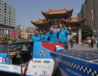 Solartaxi Team in China (Kunming)